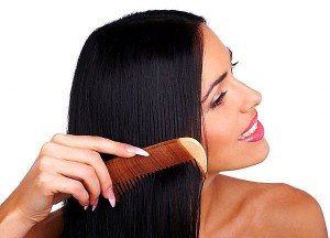 Get Healthy and Shiny Hair by Combing