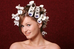 Get Fuller Hair - Blow dry with curlers