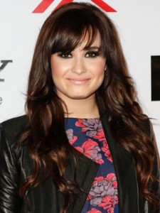 Demi Lovato Hairstyles - Bangs