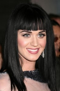 Katy Perry Hairstyles - Bangs
