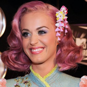 Katy Perry Hairstyles - Lavender Pink