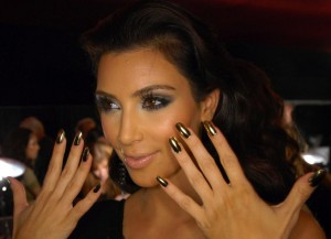 Kim Kardashian Nails - Long