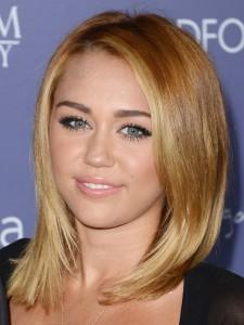Miley Cyrus Hairstyles - Bob