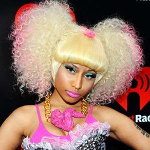 Nicki Minaj Hairstyles - Curly Pigtails