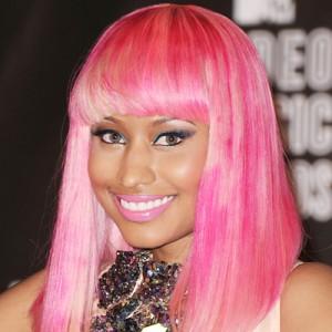Nicki Minaj Hairstyles - Pink Bob