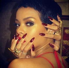 Rihanna Nails - Long