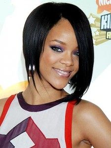 Rihanna Hairstyles - Short
