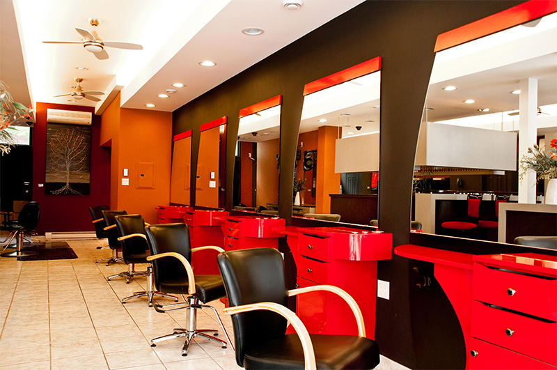hair salon interior salon price lady